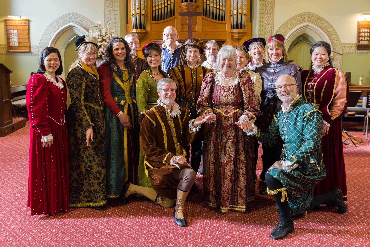 The Courtly Arts Performers!